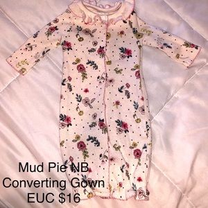 Mud Pie Convertible gown
